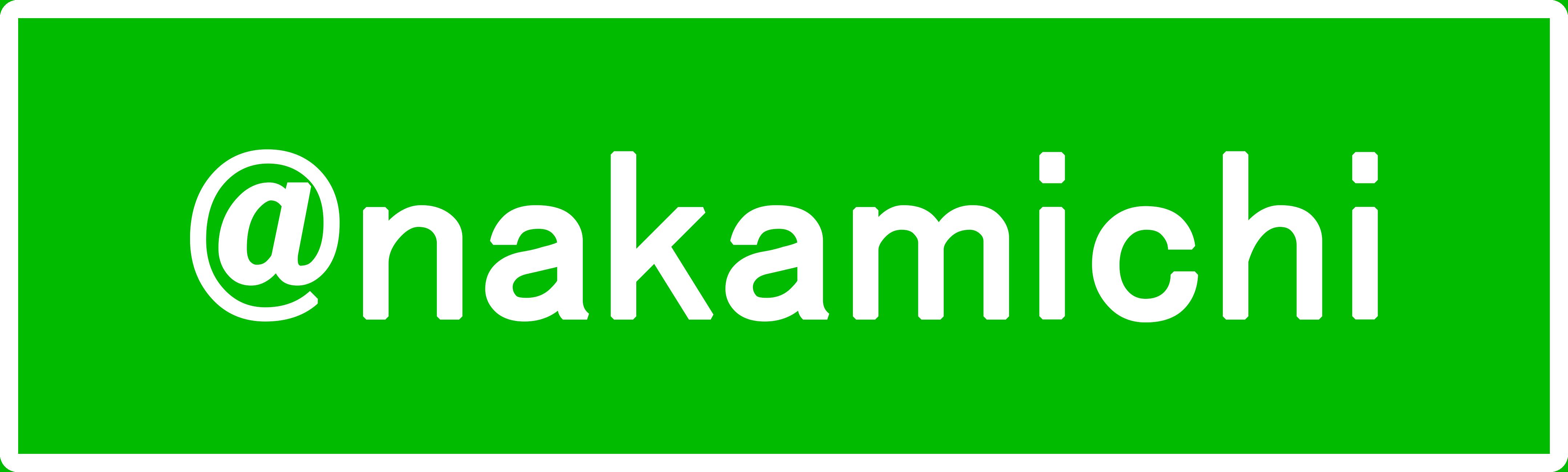 @nakamichi